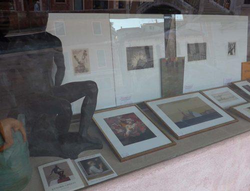 Vetrine della Galleria BAC ART STUDIO